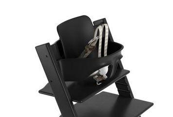529403 / BLACK / Tripp Trapp Baby Set-Black