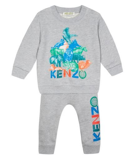 36507 / 25 GREY / KENZO CRAZY JUNGLE TB OUTFIT