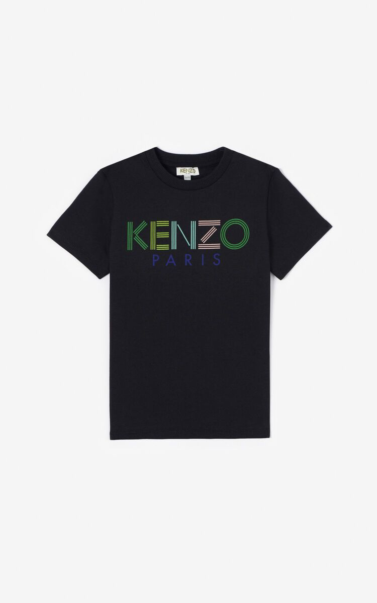 KQ10638 / 02 BLACK / KENZO JB 2 TEE W/LOGO