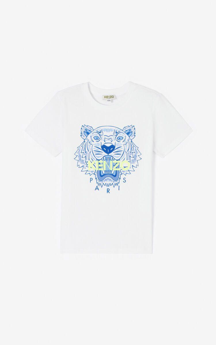 KQ10718 / 01P OPTIC WHITE / KENZO TIGER JB TEE