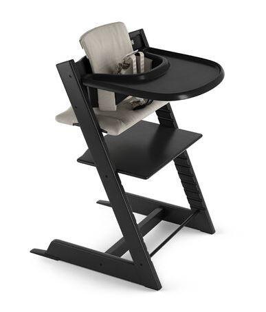 546300 / BLACK / Tripp Trapp HighChair Complete- Black