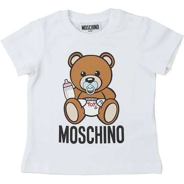 MRM021 / WHITE / MOSCHINO TOY BEAR TEE