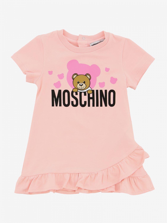 MDV07U / PINK / MOSCHINO BEAR IN CLOUD DRESS